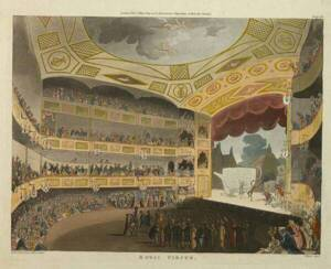 """""""The Royal Circus"""" in The Microcosm of London"""