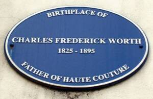 Plaque bleue Charles Frederick Worth - Bourne, Angleterre - CC BY-SA 2.0