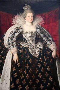 Marie de Médicis, reine de France par Frans Pourbus le Jeune  - RMN-Grand Palais (musée du Louvre) / Michel Urtado