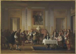 Molière reçu par Louis XIV Jean Hégesippe Vetter RMN-Grand Palais (musée d'Orsay) / Hervé Lewandowski