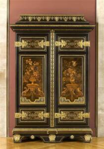 Armoire de André-Charles Boulle - Photo (C) RMN-Grand Palais / Jean-Gilles Berizzi - Musée du Louvre