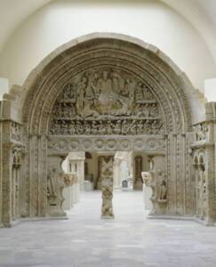 Moulage du portail de l'église Saint-Pierre-de-Moissac (1er tiers du 12e siècle) - Paris, Cité de l'architecture et du patrimoine - RMN-Grand Palais / René-Gabriel Ojéda