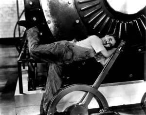Les Temps modernes de Charlie Chaplin (1936)