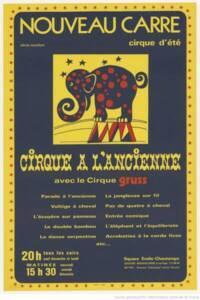 Cirque à l'ancienne avec le cirque Grüss - BnF, département Arts du spectacle