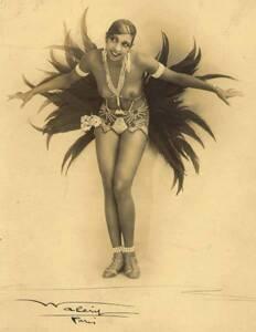 """Joséphine Baker dans """"La Revue des Revues"""" (1927), figure emblématique des « années folles » en France - Stanisław Julian Ignacy Ostroróg (Walery)"""