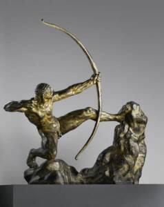Héraklès tue les oiseaux du lac Stymphale (1923) par Antoine Bourdelle - RMN-Grand Palais (musée d'Orsay) / Adrien Didierjean