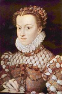 Élisabeth d'Autriche par François Clouet - Musée du Louvre