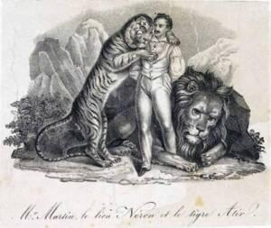 Henri Martin et ses animaux