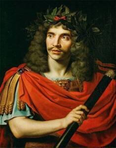 Portrait de Molière par Nicolas Mignard - Musée Carnavalet