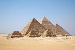 Les Pyramides de Gizeh, Egypte