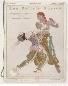 Programme officiel des Ballets Russes (1914) - Gallica - Bibliothèque nationale de France