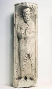 Pilier de saint André par Gilabertus, un des précurseurs de la sculpture gothique - Photothèque Musée des Augustins, Toulouse - Daniel Martin