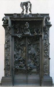 La porte de l'enfer par Auguste Rodin - Musée Rodin - Till Niermann
